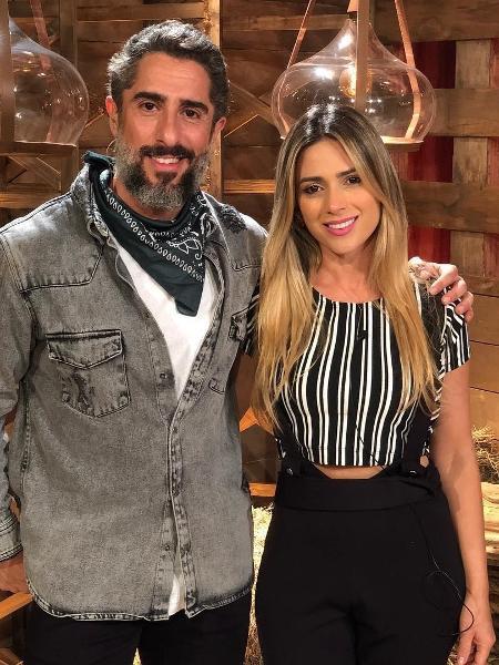 Marcos Mion e Nadja Pessoa - Reprodução/Instagram