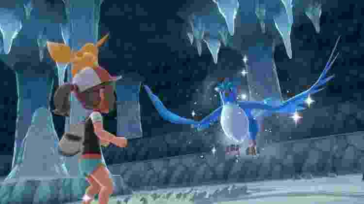Os Pokémon de gelo são fortes e raros - Reprodução