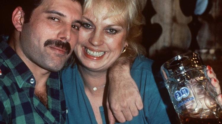 Freddie Mercury e Barbara Valentin - Reprodução - Reprodução