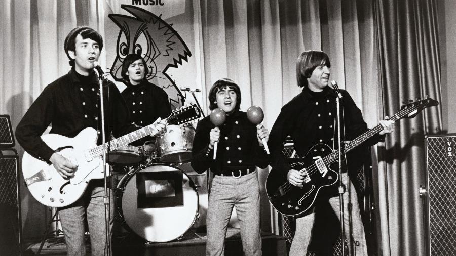 The Monkees, com Peter Tork à direita - Getty Images