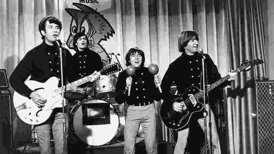 The Monkees, com Peter Tork à direita - Getty Images
