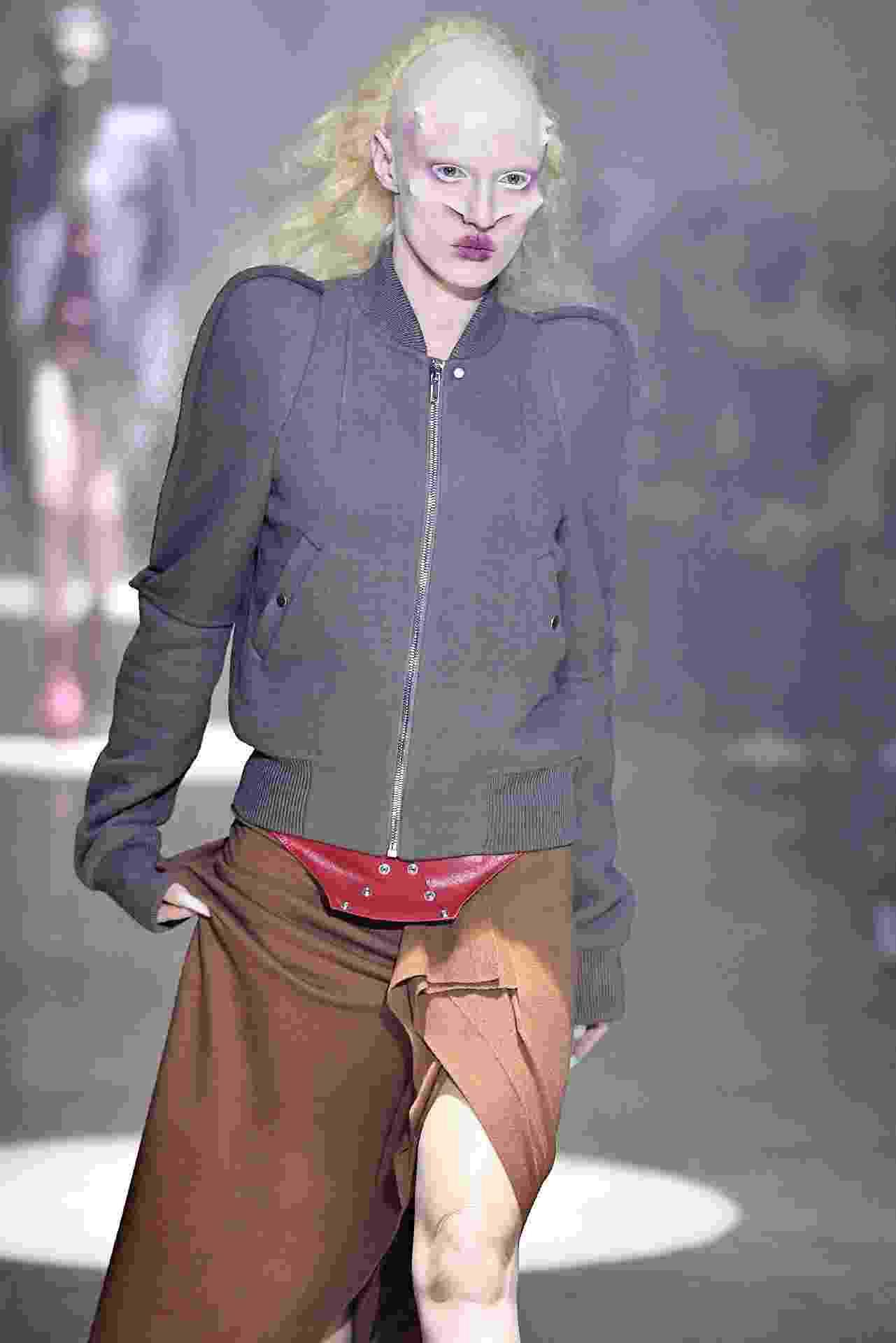 Desfile da marca Rick Owens na Semana de Moda de Paris - Getty Images