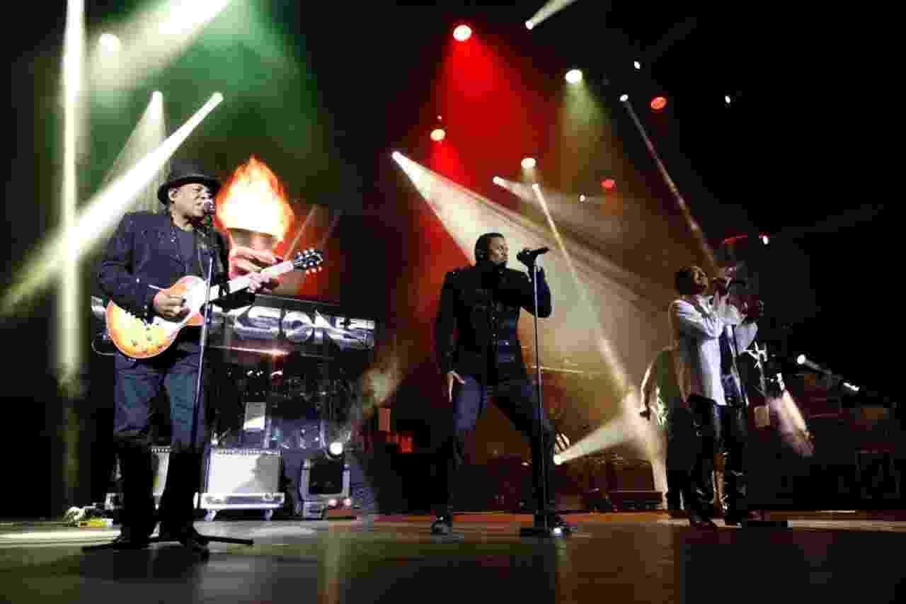 The Jacksons se apresenta no Espaço das Américas, em São Paulo - Simon Plestenjak/UOL