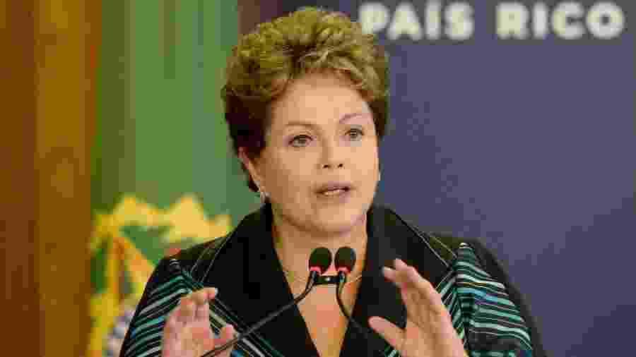 A ex-presidente Dilma Rousseff (PT) - AFP PHOTO/EVARISTO SÁ