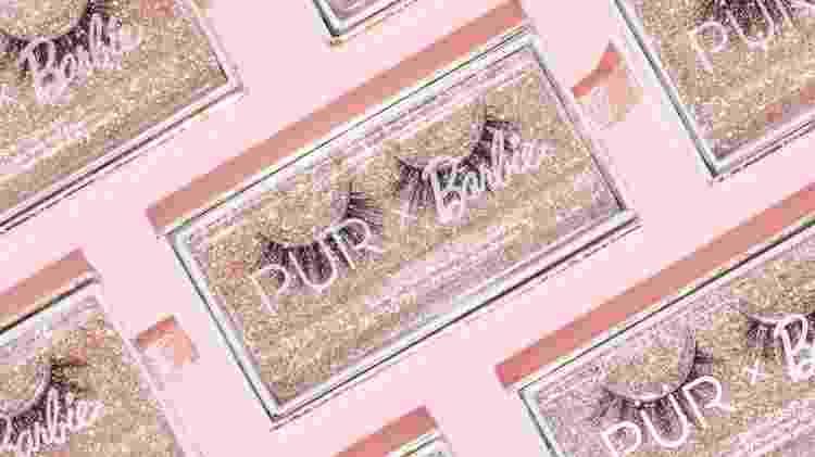 Cílios postiços, que a marca diz que não foram testados em animais - Divulgação/Pür