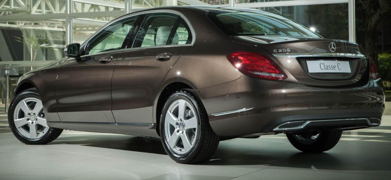 Mercedes-Benz C200 Avantgarde 2015 - Reprodução