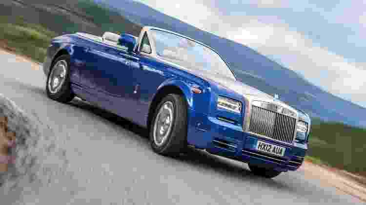 Rolls-Royce Phantom Drophead Coupe - Divulgação - Divulgação