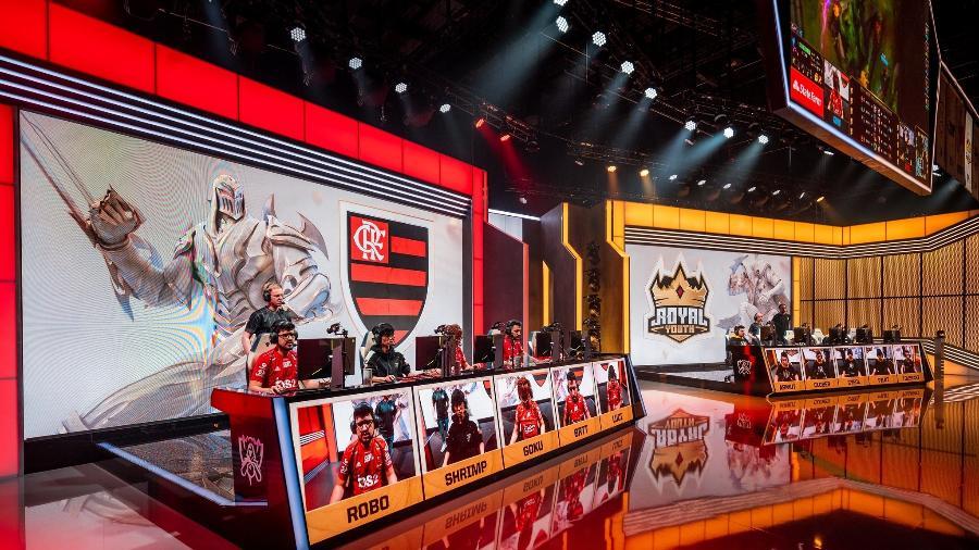 Flamengo perdeu duas partidas para a Royal Youth neste sábado e foi eliminado - Wojciech Wandzel/Riot Games