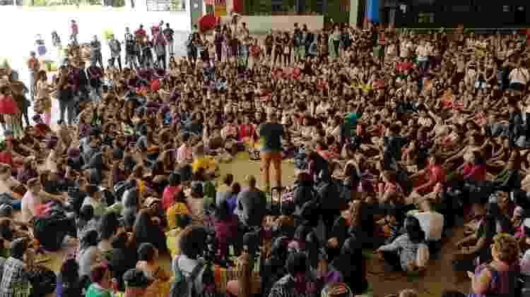 Em 2019, a Uneafro comemorou dez anos de atuação. Cerca de 2 mil jovens de escolas públicas são atendidos por ano - Arquivo pessoal