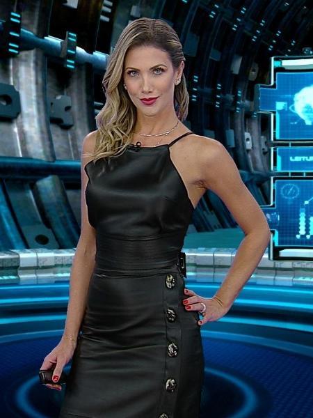 """Erica Reis, apresentadora do """"Leitura Dinâmica"""" - Rede TV!"""