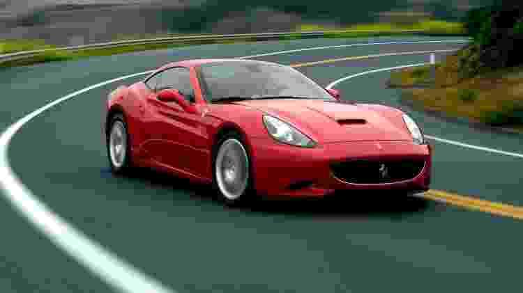 Ferrari California 2009 pode ser compartilhada em três cotas, cada uma por R$ 290 mil - Divulgação