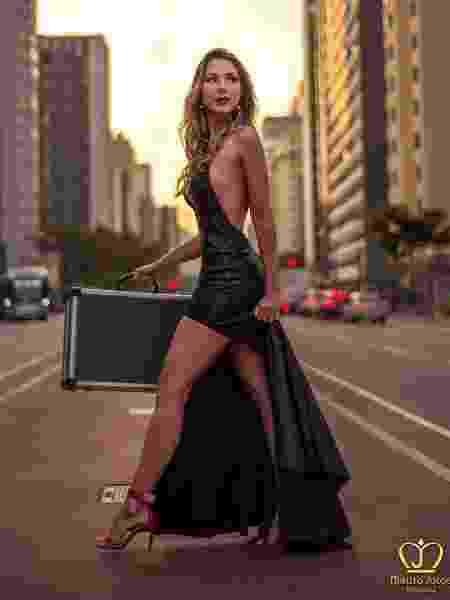 Miss Amazonas, Luanna Mendes é uma das modelos das maletas do programa Topa ou Não Topa, do SBT -  Mauro Jorge/Divulgação/Instagram