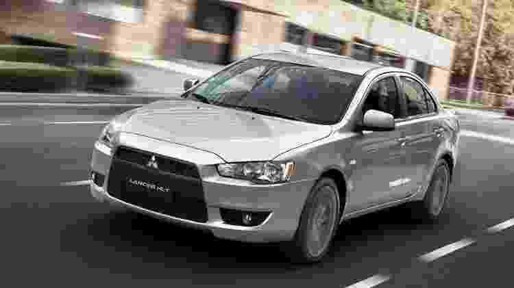 Mitsubishi Lancer - Divulgação - Divulgação
