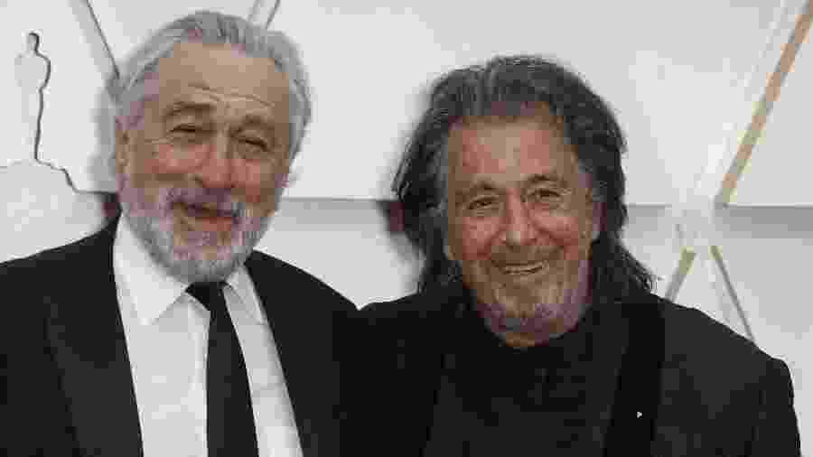 Robert de Niro e Al Pacino - REUTERS/Eric Gaillard