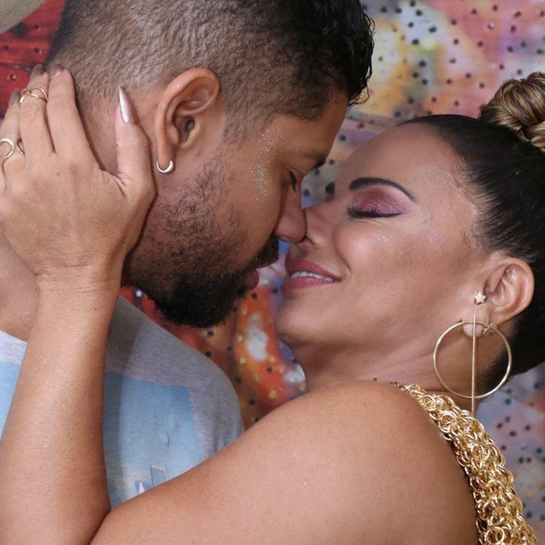 Viviane Araújo e o namorado, Guilherme Militão