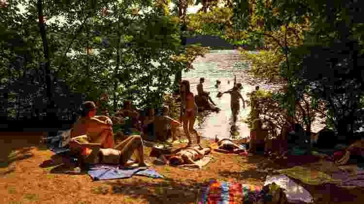 LagoSchlachtensee, nos arredores de Berlim - Getty Images - Getty Images