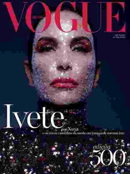 Ivete Sangalo é capa da edição 500 da revista Vogue Brasil - Divulgação