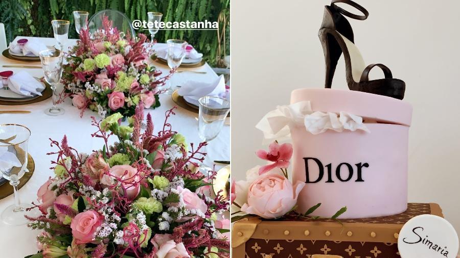 Simaria ganhou uma elegante festa de aniversário - Reprodução/Instagram