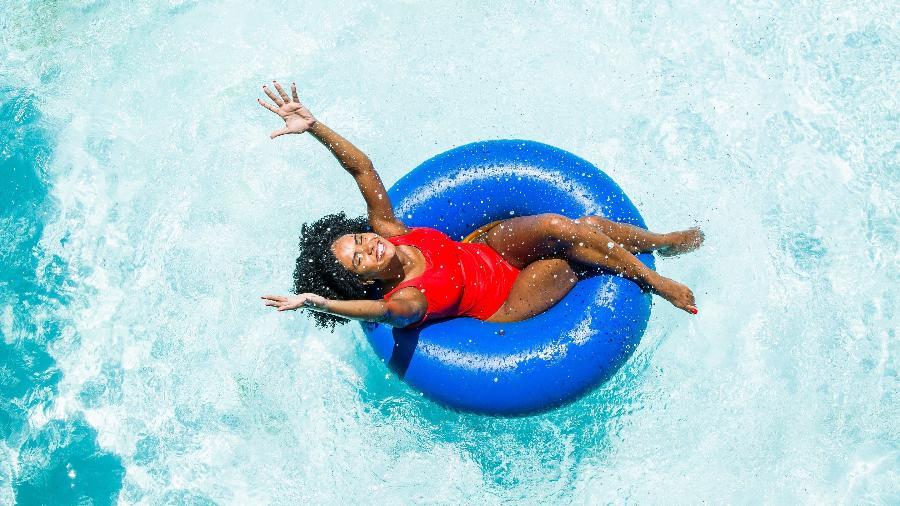 É do Brasil: Hot Park, em Rio Quente (GO), é um dos dez parques aquáticos mais visitados do mundo - Gabriel Boieras