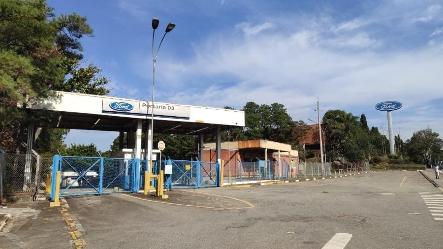 Fábrica da Ford em São Bernardo do Campo (SP) - Vitor Matsubara/UOL