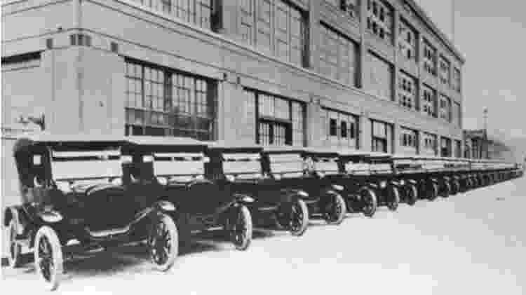 Fábrica da Ford no Bom Retiro - Reprodução - Reprodução