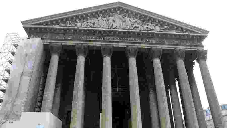 A Igreja de Madeleine fica em Paris e terá nesse ano a 19ª edição de sua lavagem - Pierre Suu/Getty Images