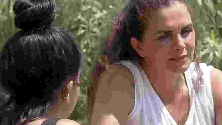 A Fazenda 2020: Luiza Ambiel e Mirella sobre votações - Reprodução/RecordTV