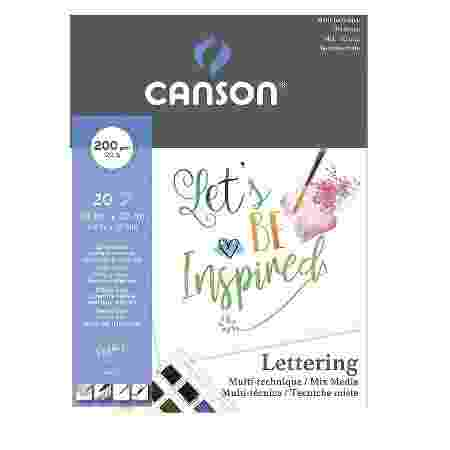 bloco-multi-tecnicas-canson-lettering-20-folhas - amazon - amazon