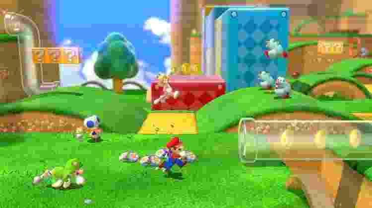 Super Mario 3D World - Divulgação/Nintendo - Divulgação/Nintendo