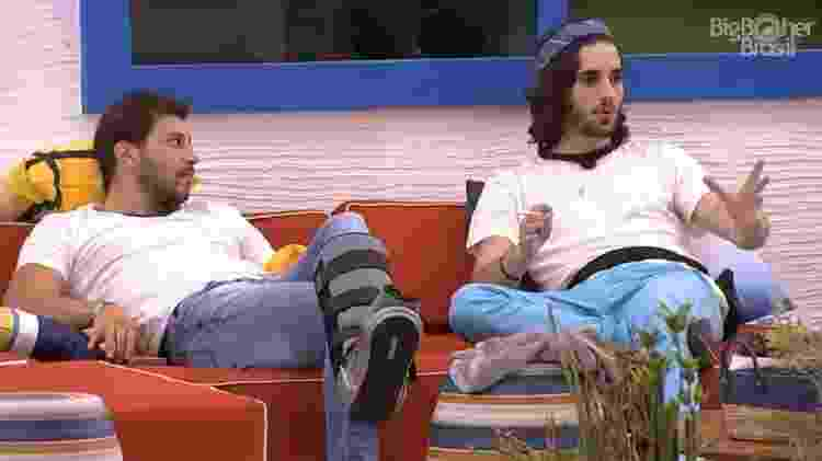 BBB 21: Fiuk fala de Fernando, da dupla com Sorocaba, e Maiara e Maraisa - Reprodução/Globoplay - Reprodução/Globoplay
