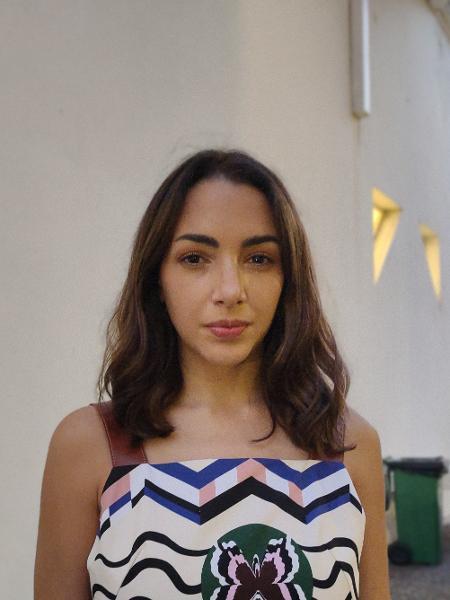 A atriz argentina Thelma Fardin, 28, contou com a ajuda do Coletivo de Atrizes Argentinas para denunciar por estupro o ator Juan Darthés - Aline Gatto Boueri/UOL
