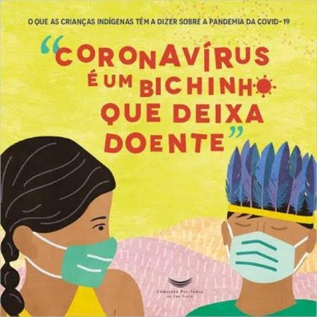 """Capa do livro """"Coronavírus é um bichinho que deixa doente"""" - Reprodução"""