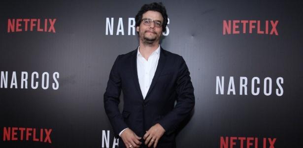"""Wagner Moura vive o traficante Pablo Escobar em """"Narcos"""", série da Netflix - Alex Palarea / AgNews"""