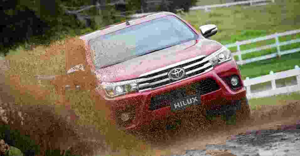 Toyota Hilux 2016 - Divulgação
