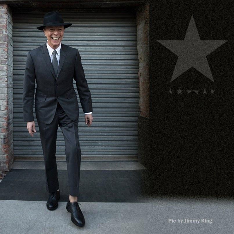 David Bowie é clicado por Jimmy King em última sessão de fotos