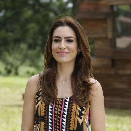 "Ticiana Villas Boas, apresentadora do ""BBQ Brasil - Churrasco na Brasa"" - Gabriel Gabe"