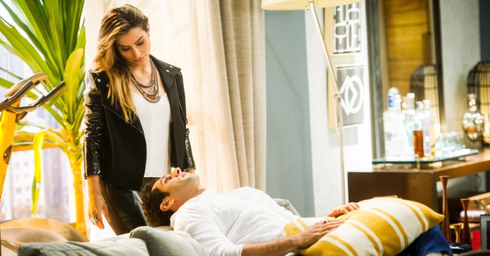 Cleo Pires vai interpretar Tamara, a dona de uma boate dentro do Grand Bazzar e irmã do publicitário Beto (João Baladasserini)