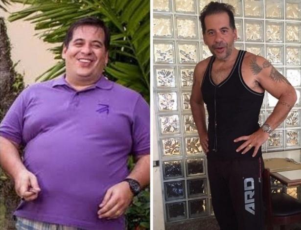 Leandro Hassum perdeu 63 quilos depois de uma cirurgia bariatrica no final de 2014 - Reprodução/Instagram/@leandrohassum
