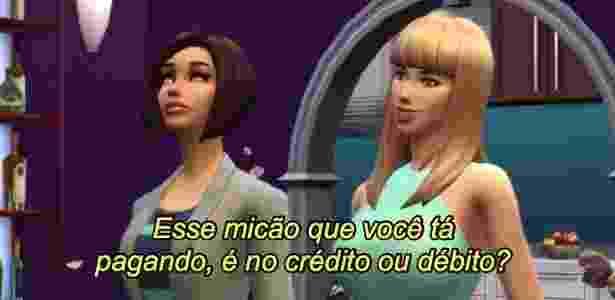 """Alex e Duny em cena da websérie """"Girls in The House"""" - Reprodução/RaoTV  - Reprodução/RaoTV"""