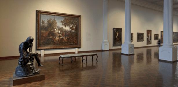 Galeria de Arte Brasileira do Século 19 do Museu Nacional de Belas Artes - Divulgação