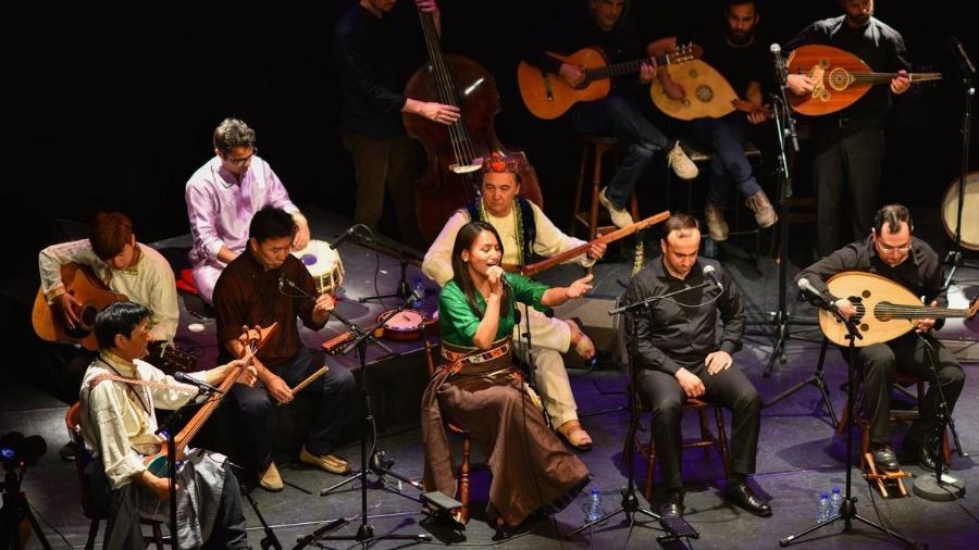 """""""Refugiados para Refugiados"""" da escola de música belga Muziekpublique  - Divulgação"""