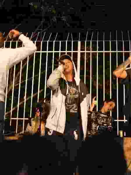 MC Clara Lima em apresentação em BH - Divulgação - Divulgação