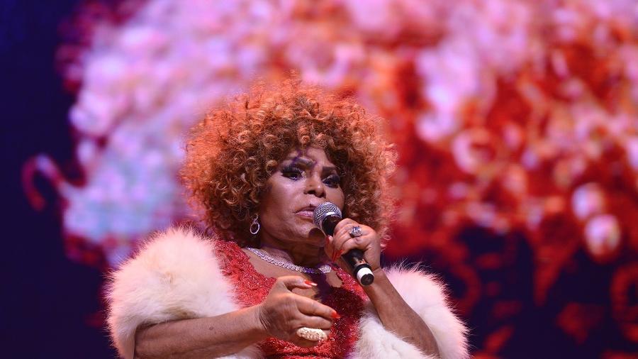 Elza Soares se apresentou no palco na Sala São Paulo - Biofoto/Flavio Santana