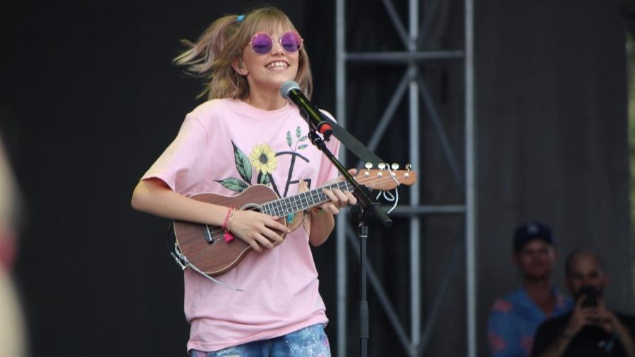 Grace VanderWaal se apresenta no festival Austin City Limits, no Texas - Felipe Branco Cruz/UOL