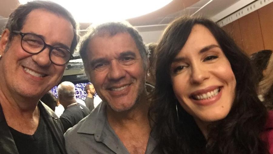 João Camargo, Humberto Martins e Maria Clara Spinelli - Reprodução/Instagram