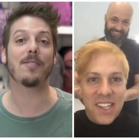 Antes e depois de Fabio Porchat - Reprodução/Instagram/fabioporchat