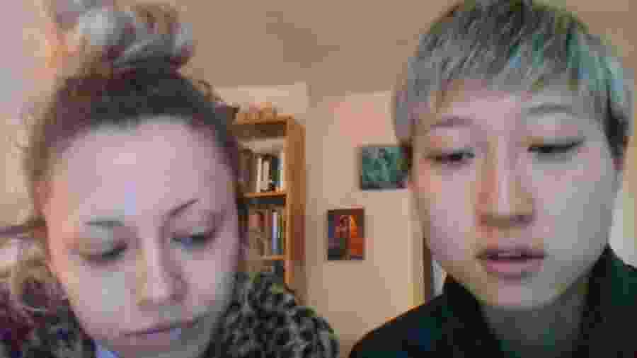 Etta Ng e a namorada, Andi Autumn, fizeram um desabafo por meio do Youtube - Reprodução/Youtube