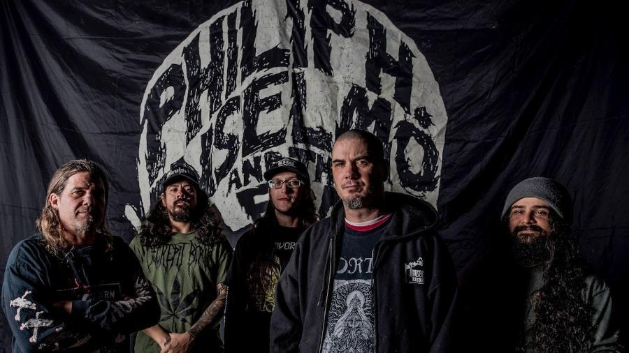 Phil Anselmo com a sua banda solo Phil Anselmo & The Illegals - Reprodução