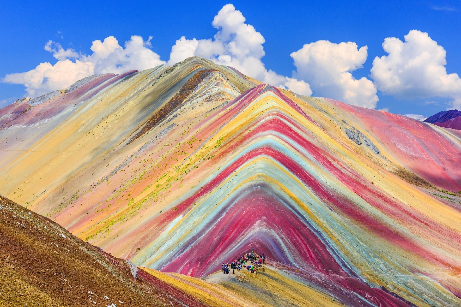 Como se explica a beleza da montanha de 7 cores que atrai multidões ao Peru  - 30/06/2018 - UOL Nossa