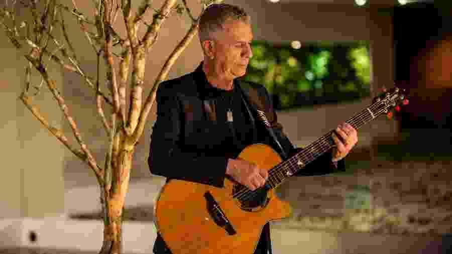 O guitarrista Kiko Pereira, do Roupa Nova - Reprodução/Facebook/roupanova